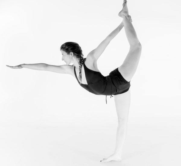 7. Standing Bow Pulling Pose – Dandayamana Dhanurasana