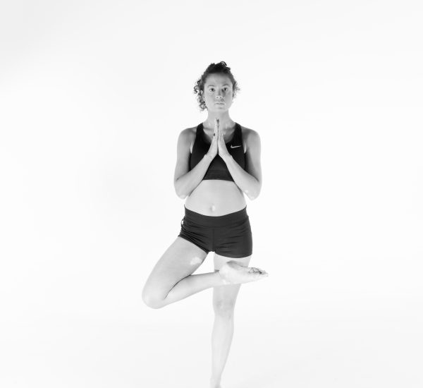 12. Tree pose – Tadasana
