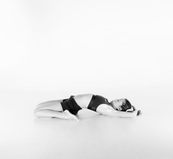 21.  Fixed Firm Pose – Supta Vajrasana