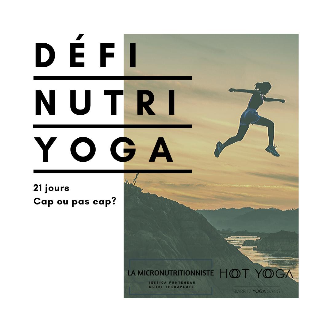 Défi Nutri Yoga